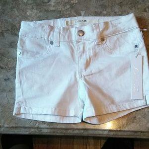 Joe's jeans denim white shorts